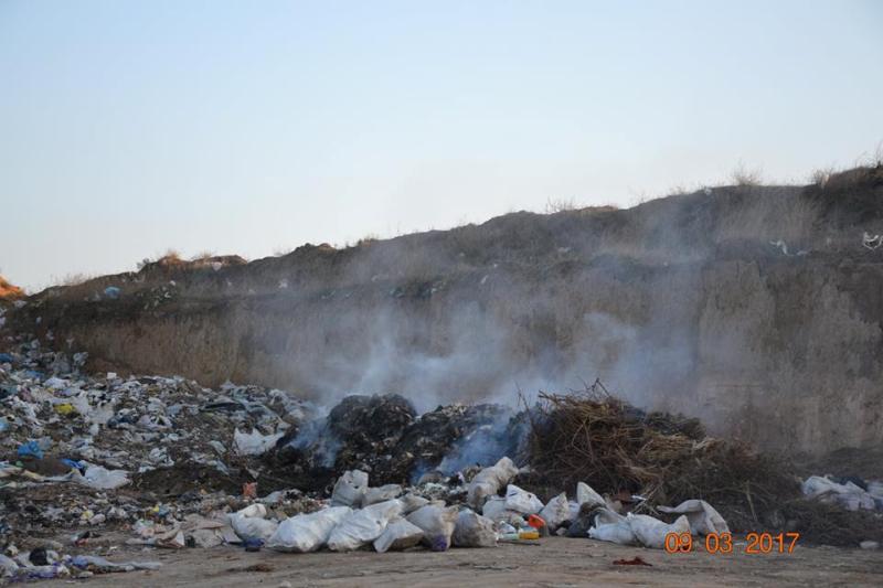 17201293_1380206005368903_5227867921680808001_n Белгород-Днестровский р-н: полиция начала расследовать незаконный выброс львовского мусора (ФОТО)