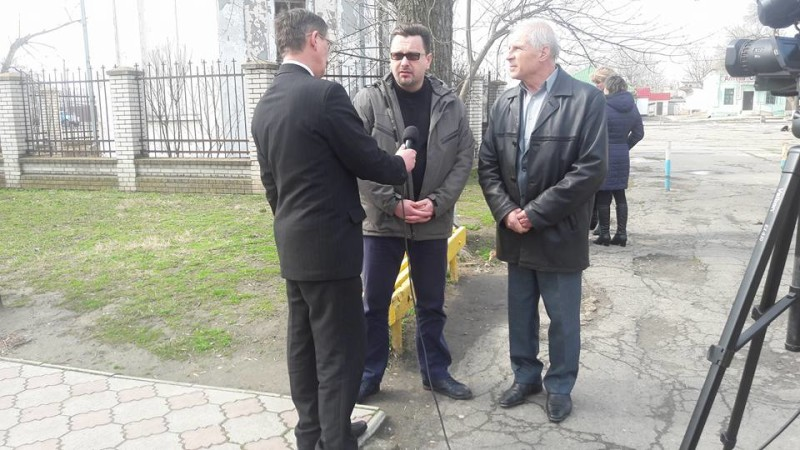День украинского добровольца в Килии отметили торжественной церемонией возложения цветов (фото)