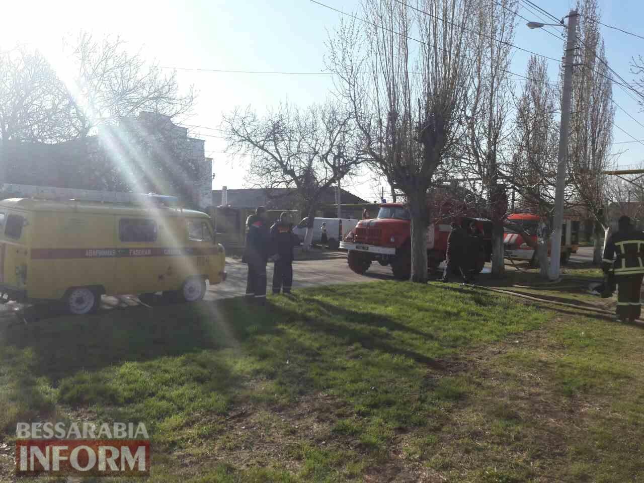 58d8c0778d9a7_346346 Утром в Измаиле произошел пожар в жилом доме