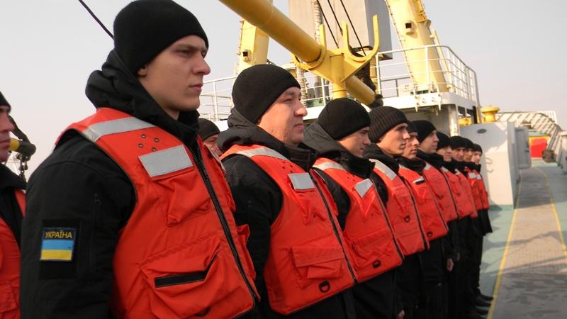 DSCN4756 В Измаиле моряки-пограничники начали обучение  на судне-тренажере «Новый Донбасс»