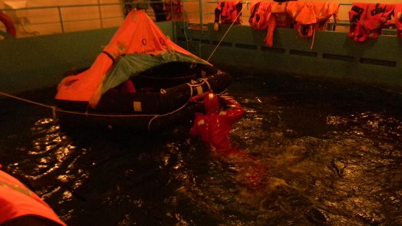 DSCN4802 В Измаиле моряки-пограничники начали обучение  на судне-тренажере «Новый Донбасс»