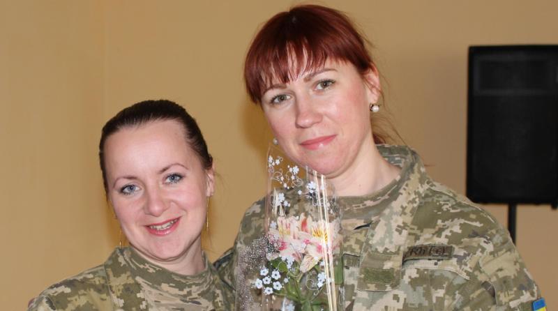 IMG_3303 Пограничники Белгород-Днестровского отряда  поздравили женщин с 8 Марта