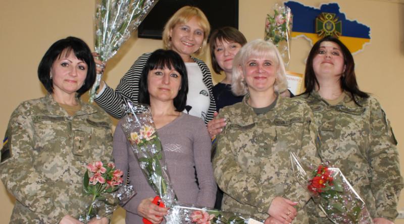 IMG_3365 Пограничники Белгород-Днестровского отряда  поздравили женщин с 8 Марта