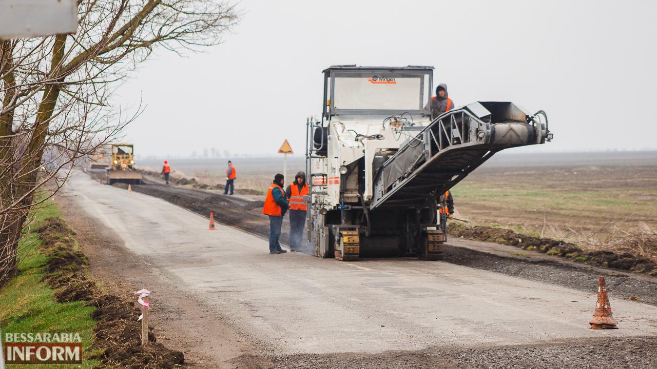 IMG_7520 Дорожники возобновили работы по ремонту трассы Одесса-Рени