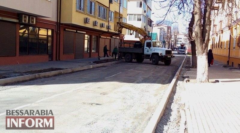 Izmail-dom-Volontira В Измаиле стартовал сезон ремонта дорог: начали с улицы Бессарабской (ФОТО)