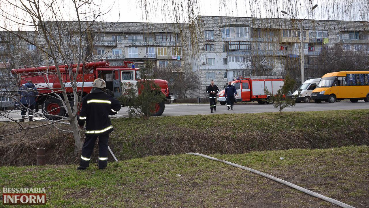 Сегодня в Измаиле горела иномарка (ФОТО)