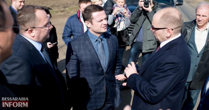 SME_6950-1 Глава ОГА подтвердил, что вопрос ремонта дороги Килия-Спасское является одним из приоритетных