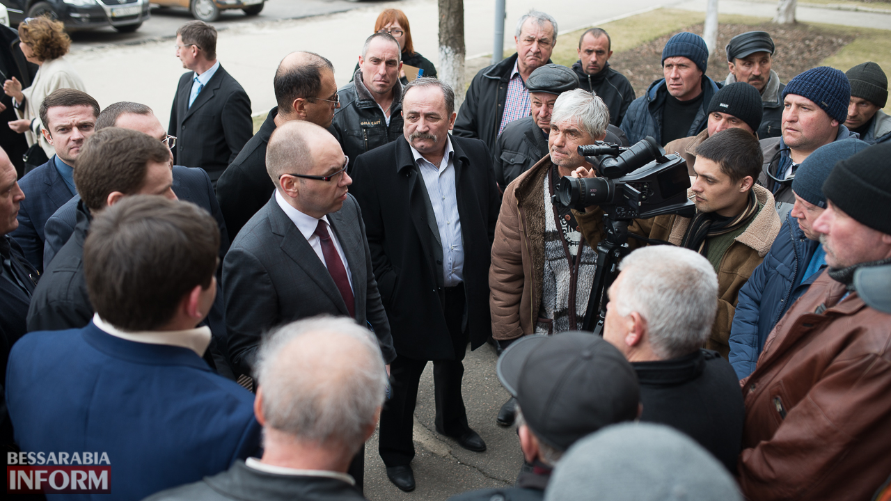 SME_6989 Глава ОГА подтвердил, что вопрос ремонта дороги Килия-Спасское является одним из приоритетных