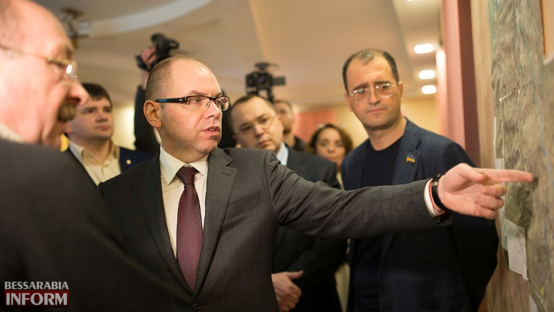 SME_7057-1 Глава ОГА подтвердил, что вопрос ремонта дороги Килия-Спасское является одним из приоритетных