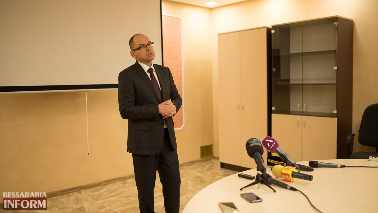 SME_7065 Глава ОГА подтвердил, что вопрос ремонта дороги Килия-Спасское является одним из приоритетных
