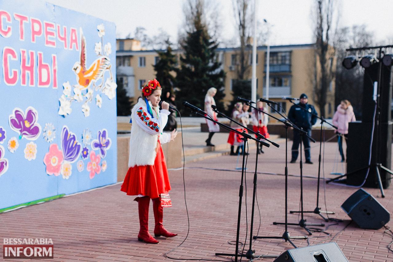 Как в Измаиле встречали весну: гулянья, спортивные забавы, угощения и концерт (фоторепортаж)