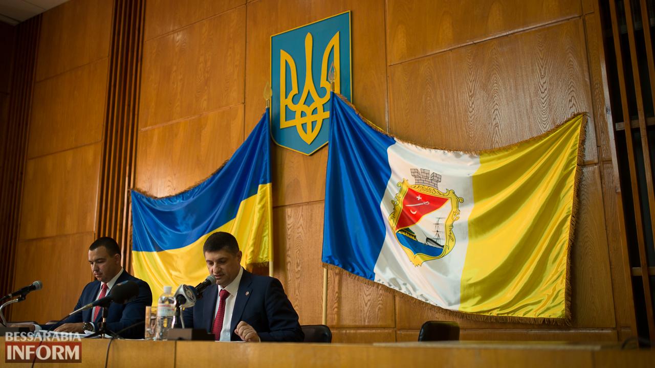 SME_8624 Новый флаг Измаила уже развевается над городом
