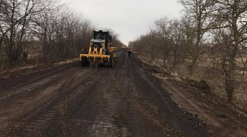 Павел Бойченко: в Килийском районе стартовал сезон ремонта дорог (фото)