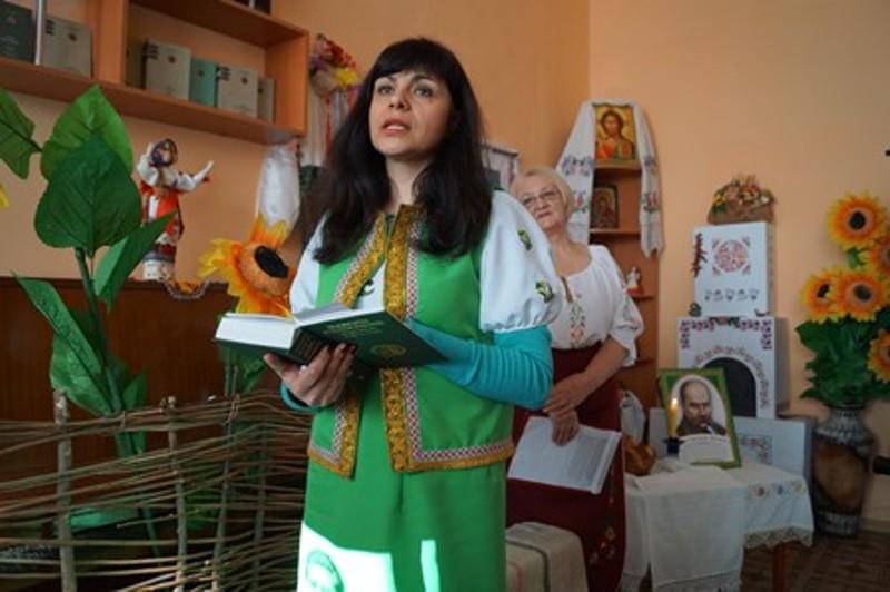 dsc00312 В Болградской районной библиотеке создали отдел украинской литературы и культуры