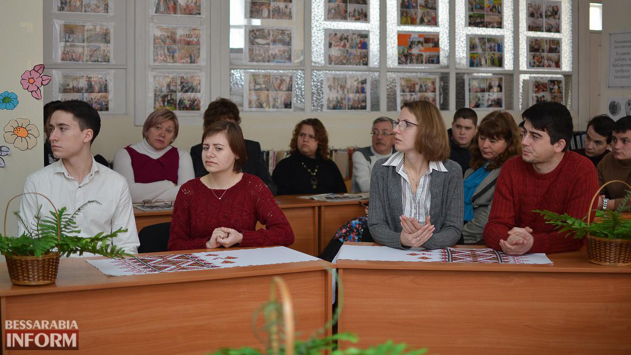 Впервые в истории: в Измаиле в МАУП отметили День украинского добровольца (ФОТО)