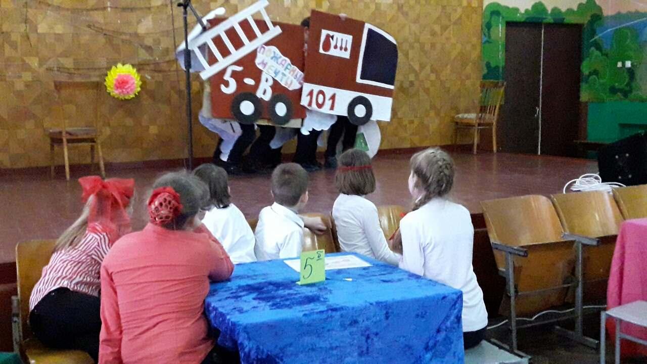 В измаильской школе состоялось соревнование дружины юных пожарников (фото)