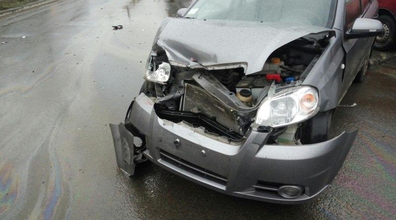 В Измаиле столкнулись Daewoo и Chevrolet (фото)