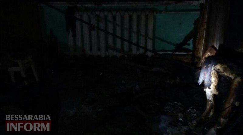 Смертельный пожар минувшей ночью в Измаиле: подробности происшествия