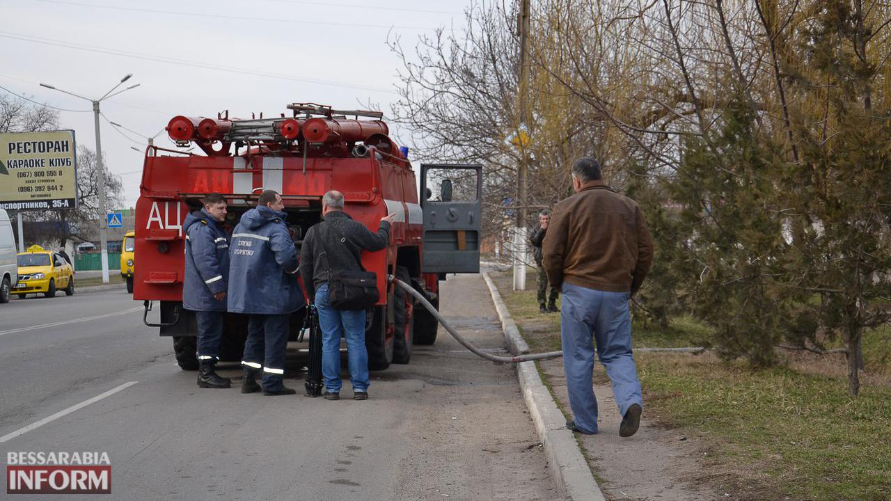 q2kXHNdW6vg Сегодня в Измаиле горела иномарка (ФОТО)