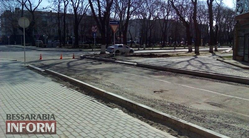remont-ulitsy-Bessarabskoj В Измаиле стартовал сезон ремонта дорог: начали с улицы Бессарабской (ФОТО)