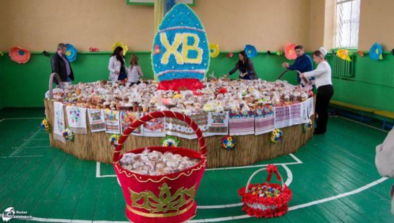 18010285_1290963817667116_6720554174076050016_n-600x400 Новый рекорд: в Татарбунарах собрали самую большую в Украине пасхальную корзину