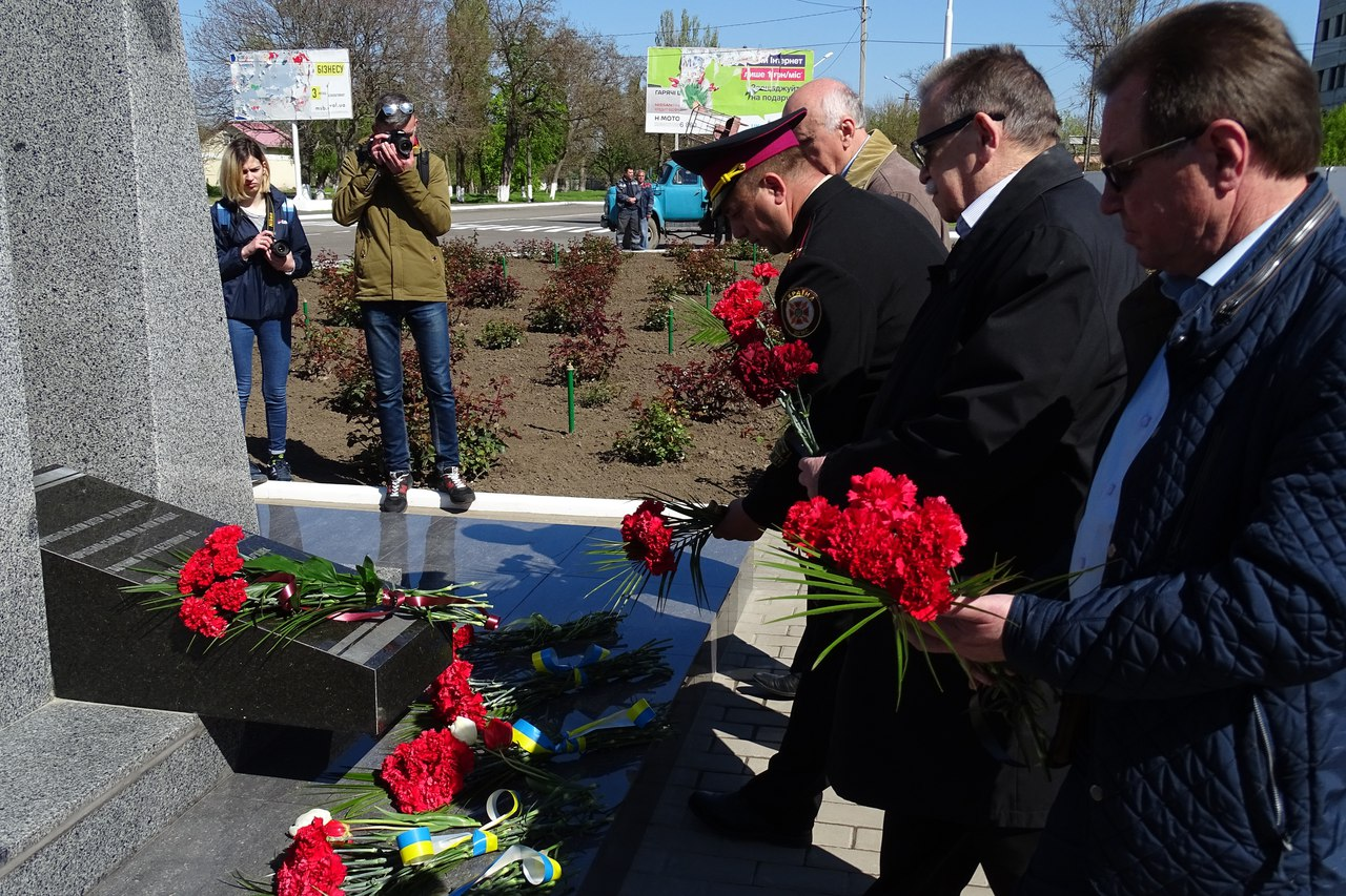 3fLZMIMp4dU 31-я годовщина аварии на Чернобыльской АЭС: в Измаиле прошел памятный митинг