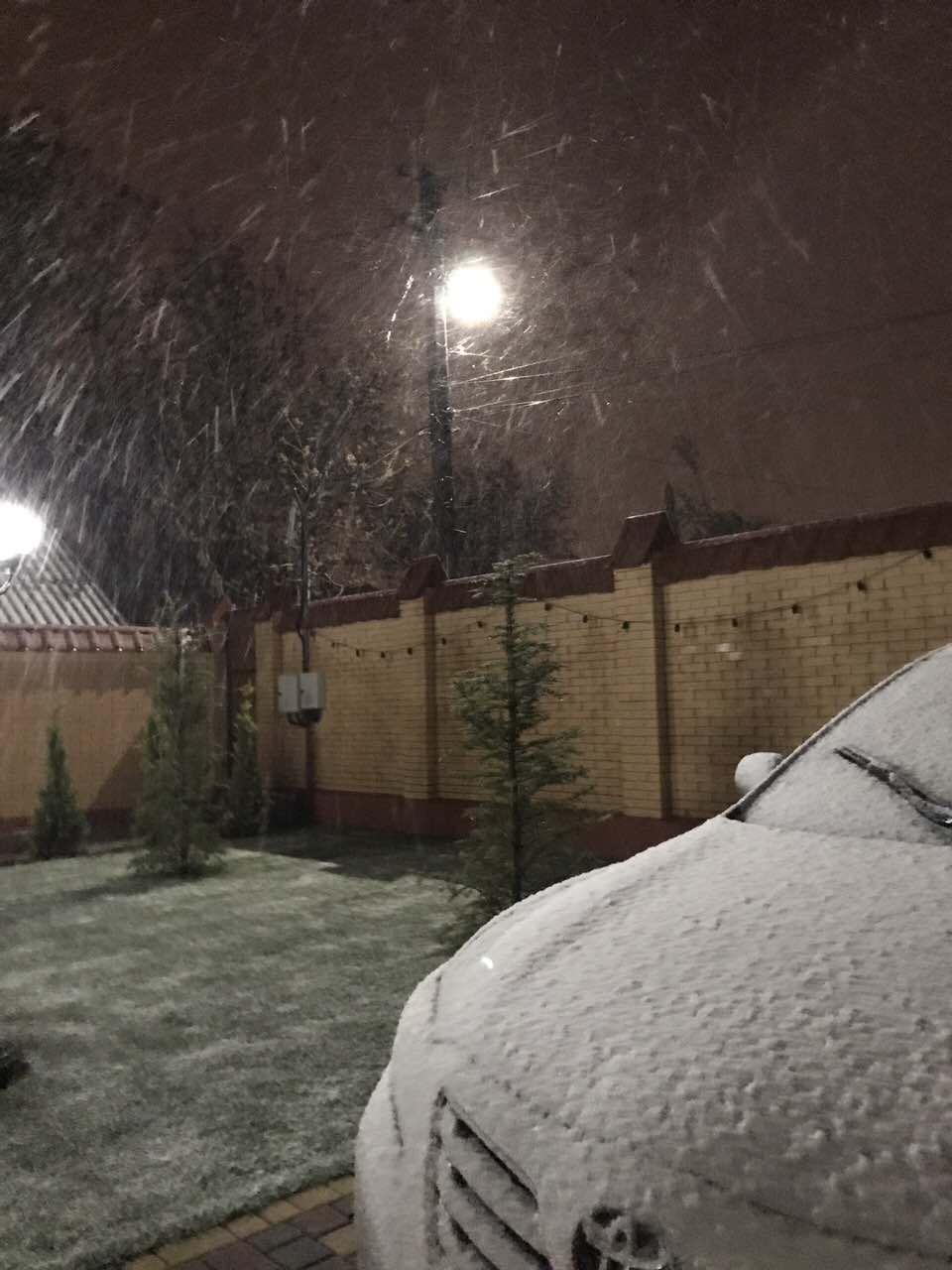 Снежная стихия добралась и до Измаила