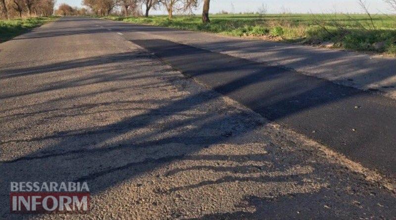 58eb8822a62a0_6565 Очередная халтура: в Измаильском районе на недавно отремонтированной дороге уже лепят латки