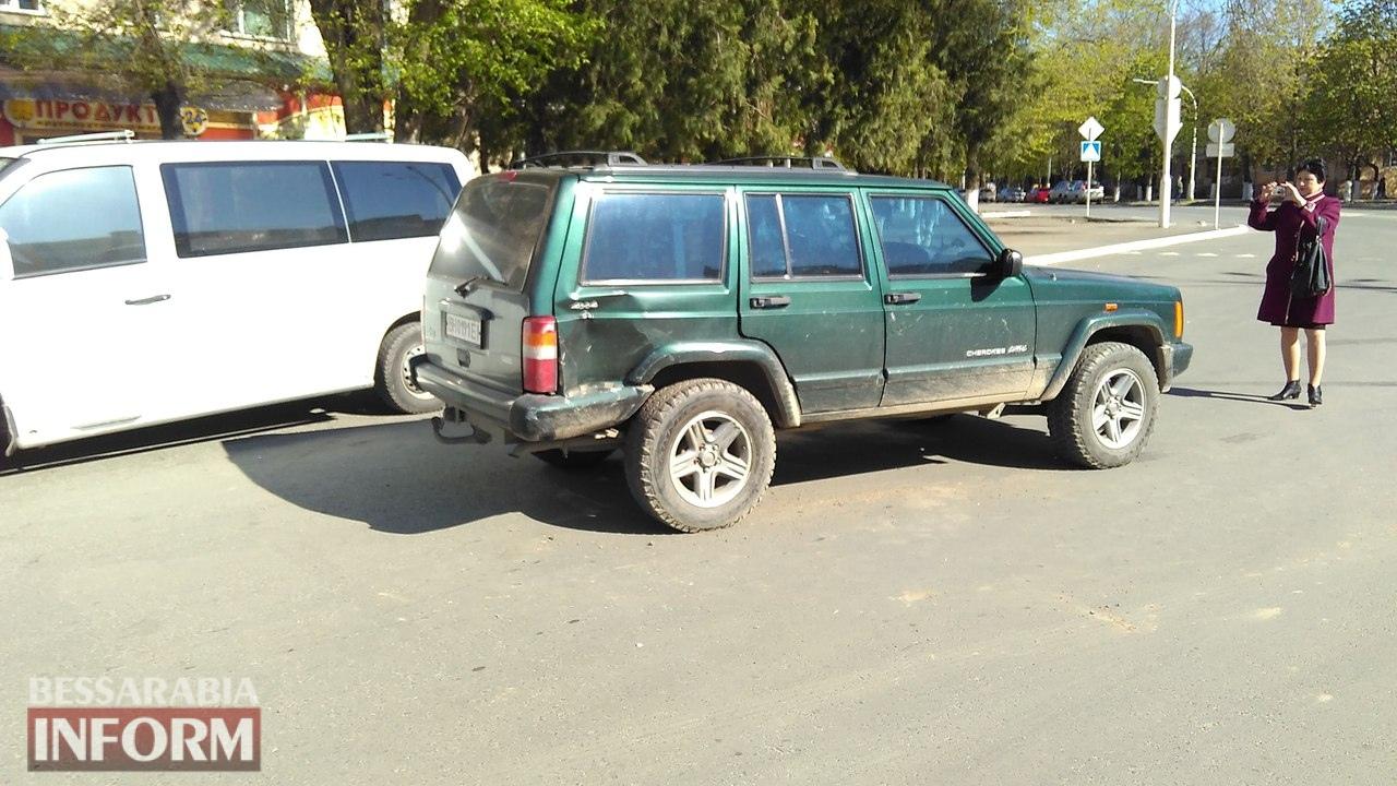 58eb8adfabbc4_Qi8Oa7q4LxQ ДТП на площади Мира в Измаиле: Honda не пропустила Jeep Cherokee