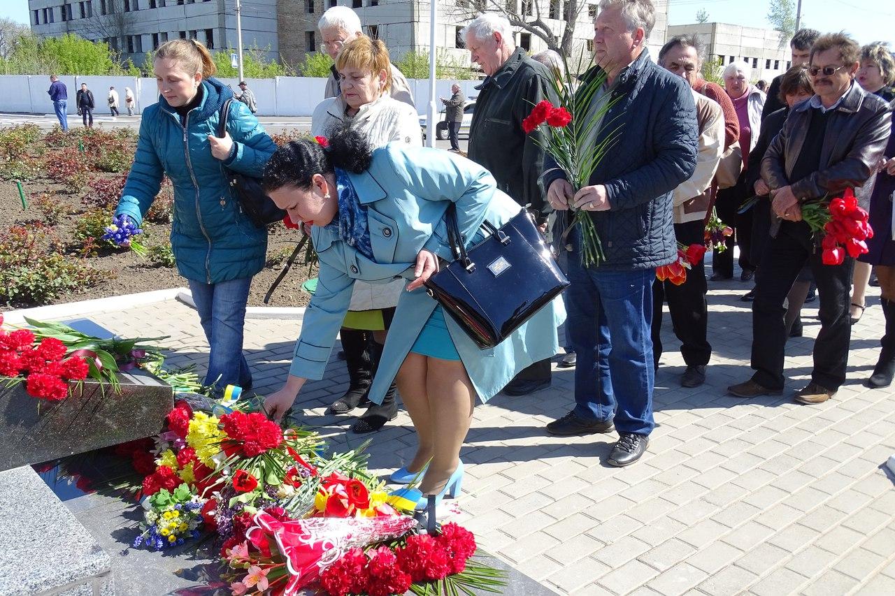 7Sxtar65voc 31-я годовщина аварии на Чернобыльской АЭС: в Измаиле прошел памятный митинг