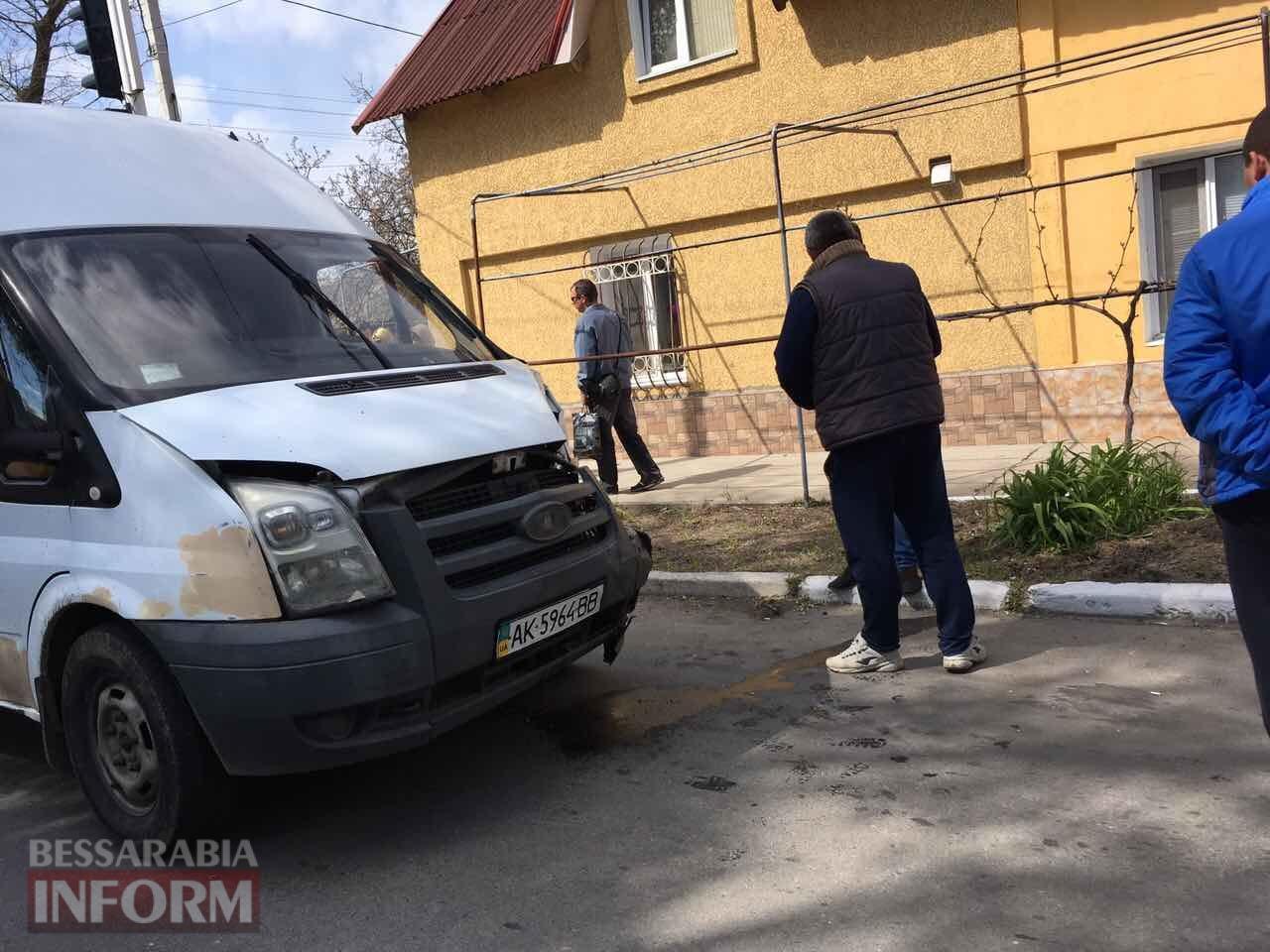 Avariya-v-Izmaile Измаил: на улице Белгород-Днестровской очередное ДТП, есть пострадавшая