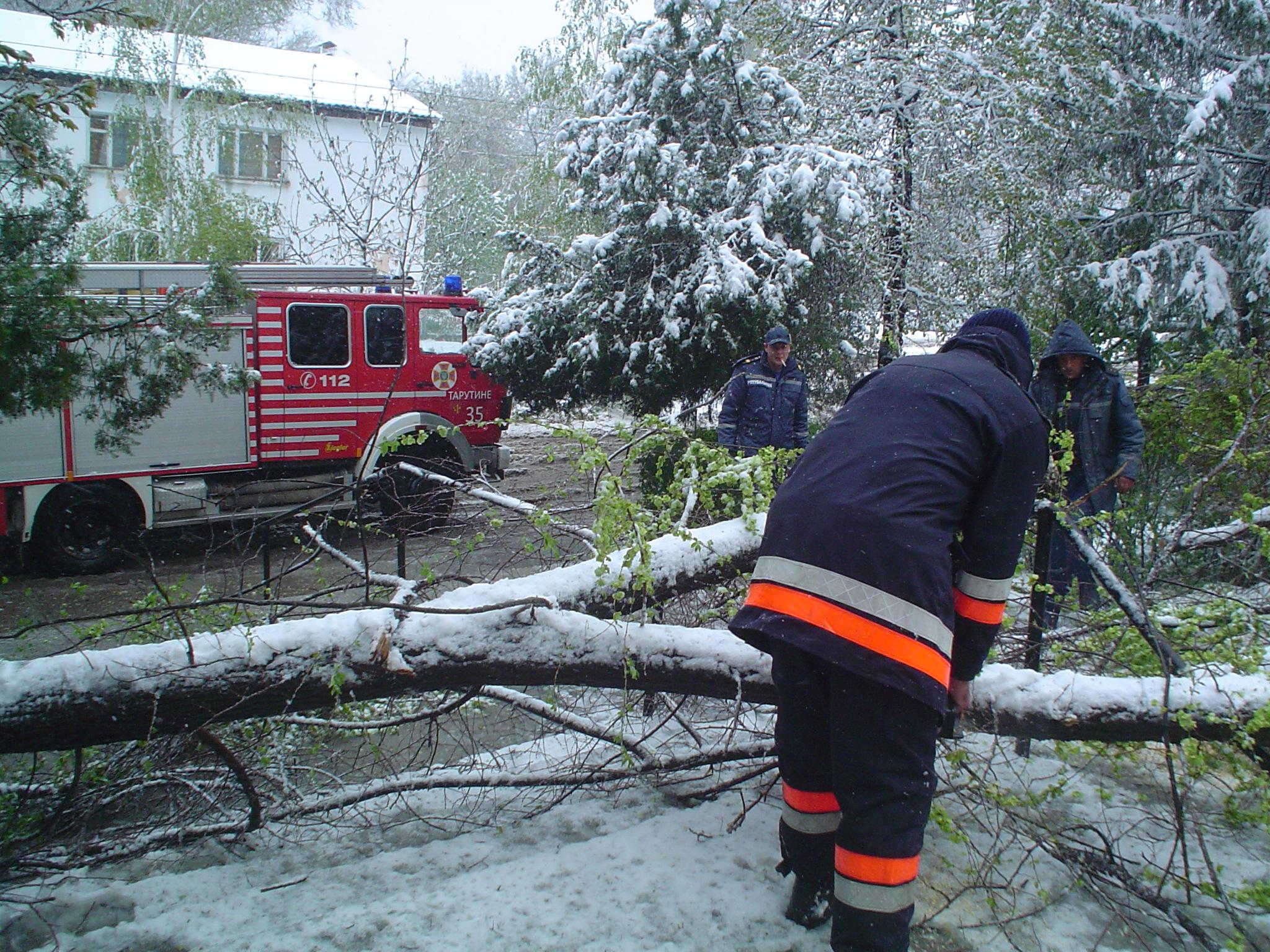 Информация об осложнении погодных условий в Одесской области по состоянию на сегодня