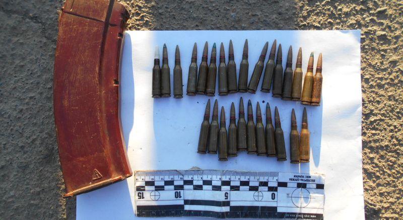 В Измаильском районе задержали молдаванина с магазином боевых патронов к автомату Калашникова