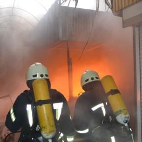 пожар на одесском рынке