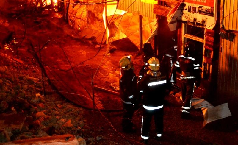 DSC_0035 В Одессе в следствии масштабного пожара сгорело 15 дачных домов