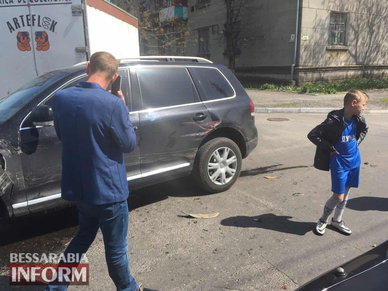 Измаил: на Белгород-Днестровской произошло тройное ДТП