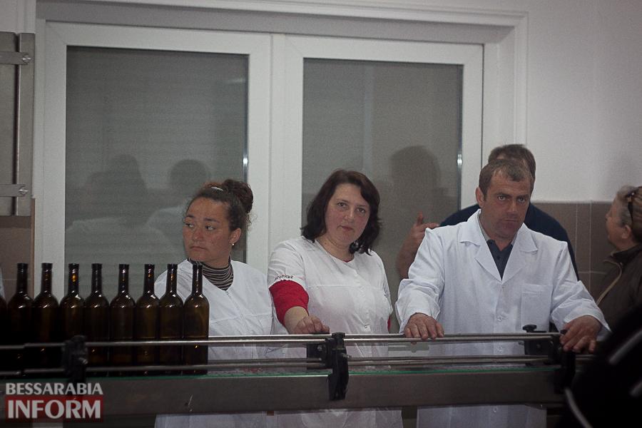IMG_0338 Эпохальное событие для Измаильского р-на: в Каменке открыли первую линию розлива вин