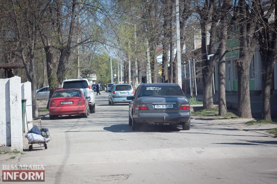 IMG_8613 Фотофакт: пешеходную улицу в Измаиле захватили автомобилисты