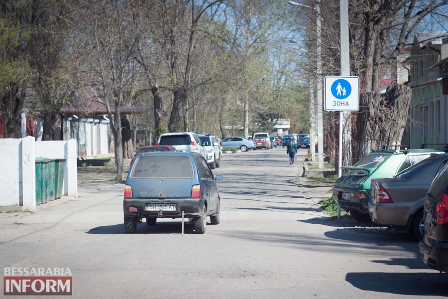 IMG_8616 Фотофакт: пешеходную улицу в Измаиле захватили автомобилисты
