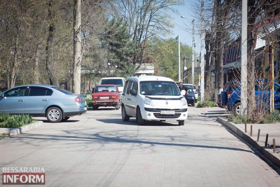 IMG_8619 Фотофакт: пешеходную улицу в Измаиле захватили автомобилисты