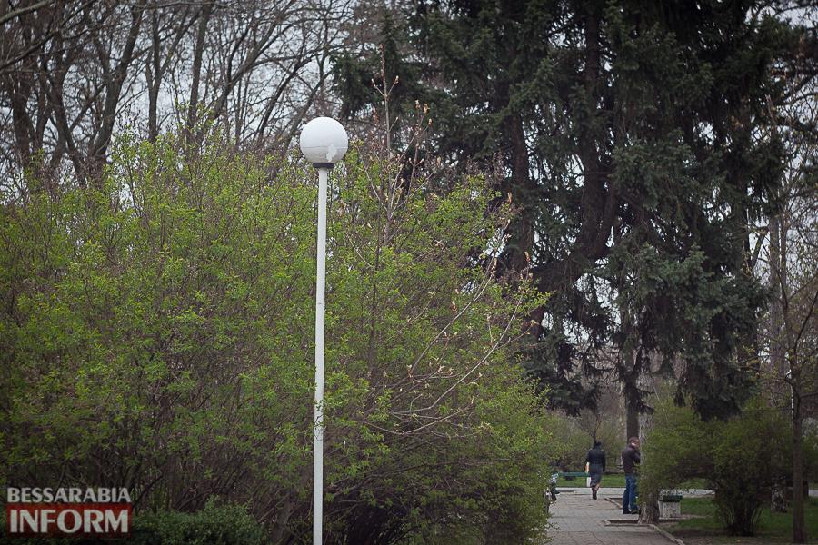 IMG_8699 Улицы разбитых фонарей: в Измаиле хулиганы портят элементы уличного освещения