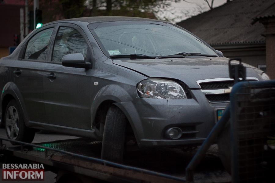 IMG_8727 Измаил: водитель Chevrolet Aveo спровоцировал тройное ДТП на Белгород-Днестровской