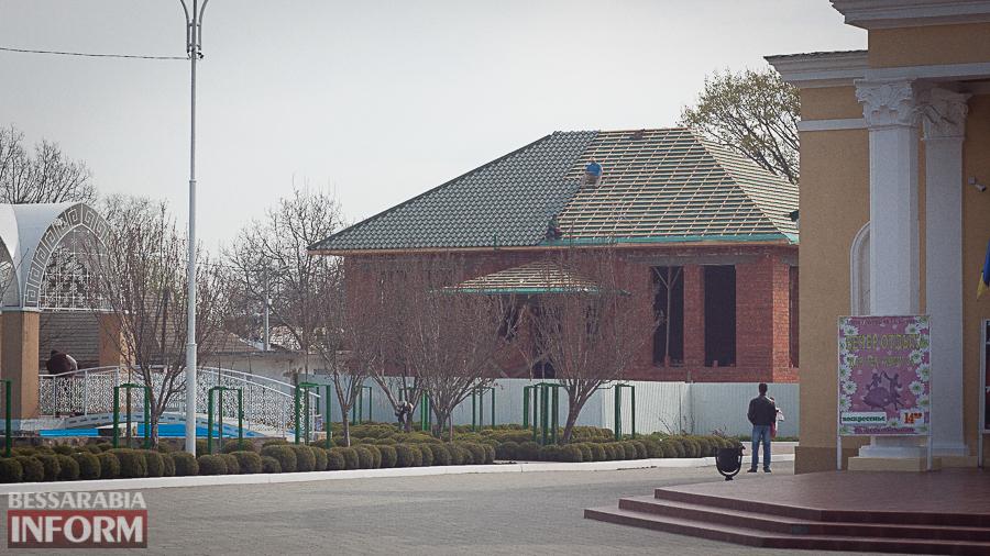 В дополнении к сакуровому саду: в Измаиле возле ДК Шевченко появится интересное заведение