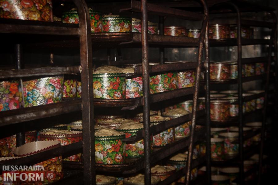 IMG_8988 Неделя до Пасхи: как в Измаиле пекут куличи на одном из крупнейших хлебокомбинатов