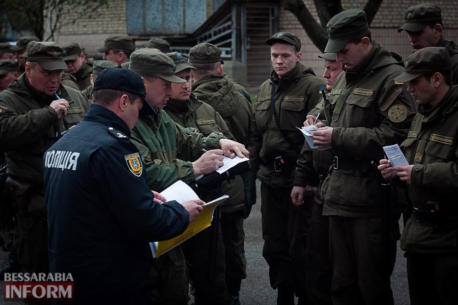 IMG_9041 Измаил будут патрулировать силы Нацгвардии совместно с полицейскими