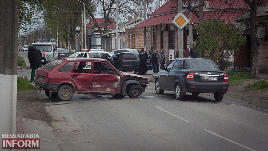 IMG_9173 В Измаиле в результате утреннего ДТП пострадали два человека