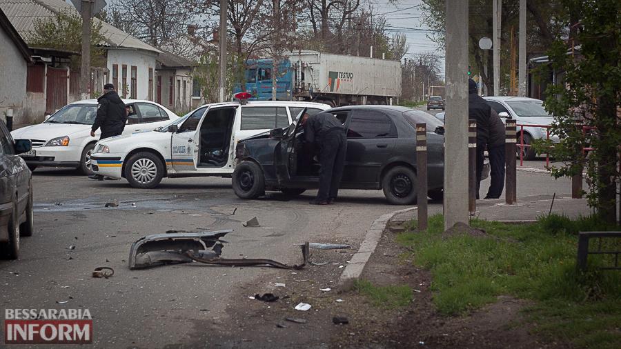 IMG_9179 В Измаиле в результате утреннего ДТП пострадали два человека
