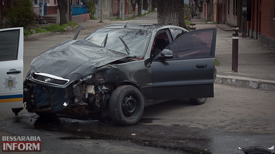 IMG_9183 В Измаиле в результате утреннего ДТП пострадали два человека