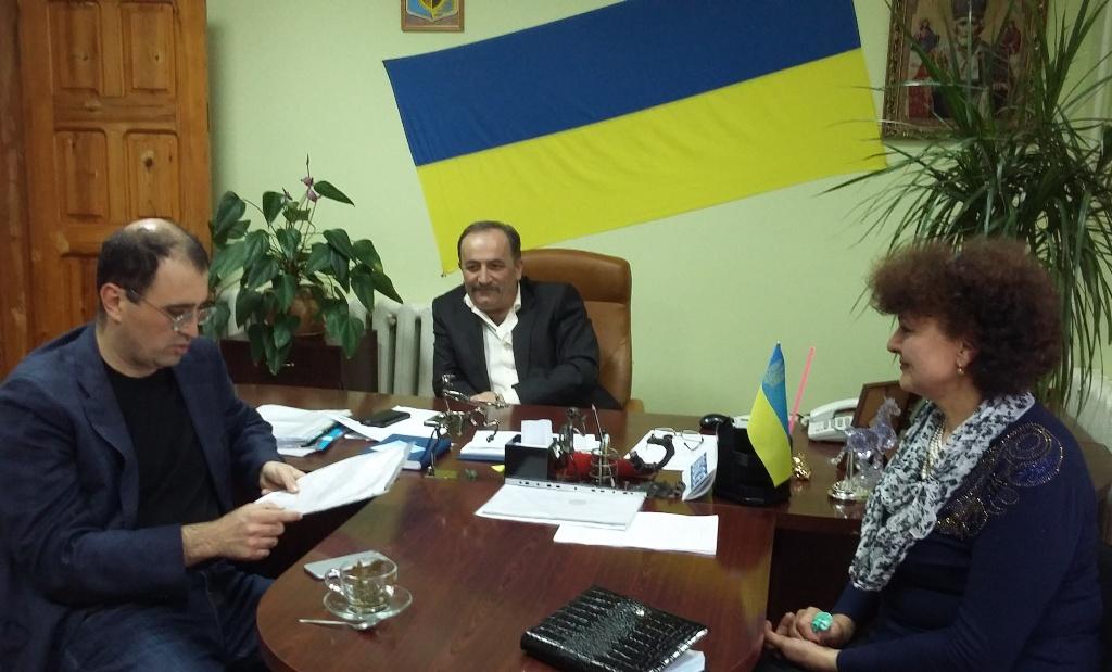 Vilkovo-4 Отчет депутата Одесского областного совета VІІ созыва Юрия Маслова
