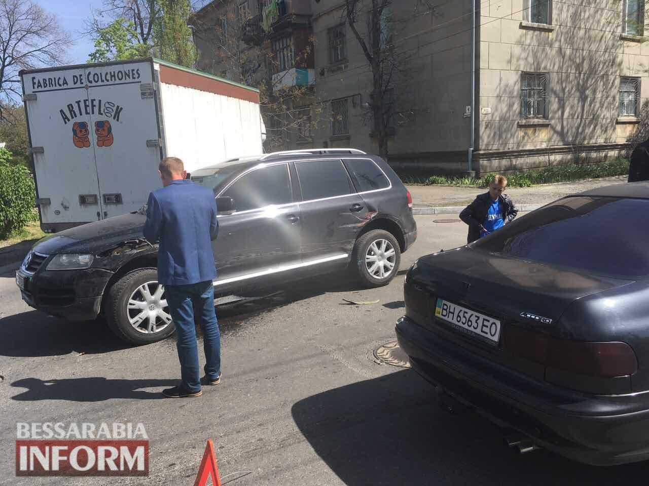 avariya-v-Izmaile Измаил: на Белгород-Днестровской произошло тройное ДТП